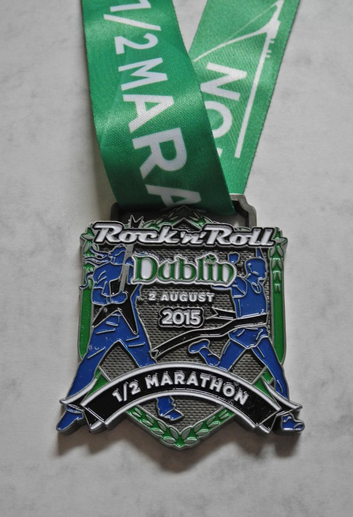 Finisher Medaille Dublin Rock 'n' Roll Half Marathon