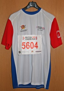 Laufshirt British 10k London 2013