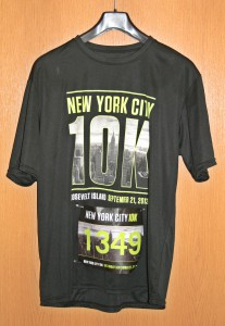 Laufshirt New York 10 k Lauf 2013