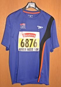 Laufshirt Inverness Marathon 2013