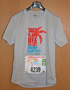 Laufshirt Palm Beaches Marathon 2013