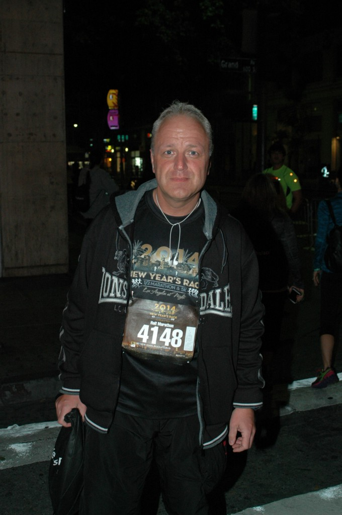 0011_New Year Halbmarathon  Los Angeles, USA, 04 Januar 2014