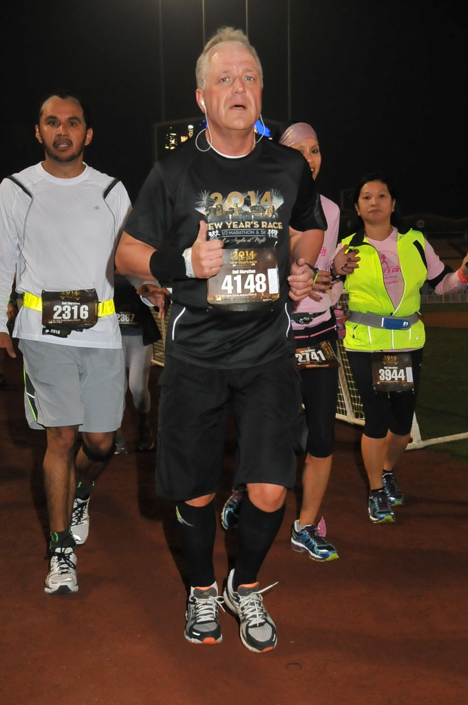0012_New Year Halbmarathon  Los Angeles, USA, 04 Januar 2014
