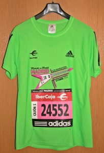 Laufshirt Rock 'n' Roll Marathon Madrid 2014