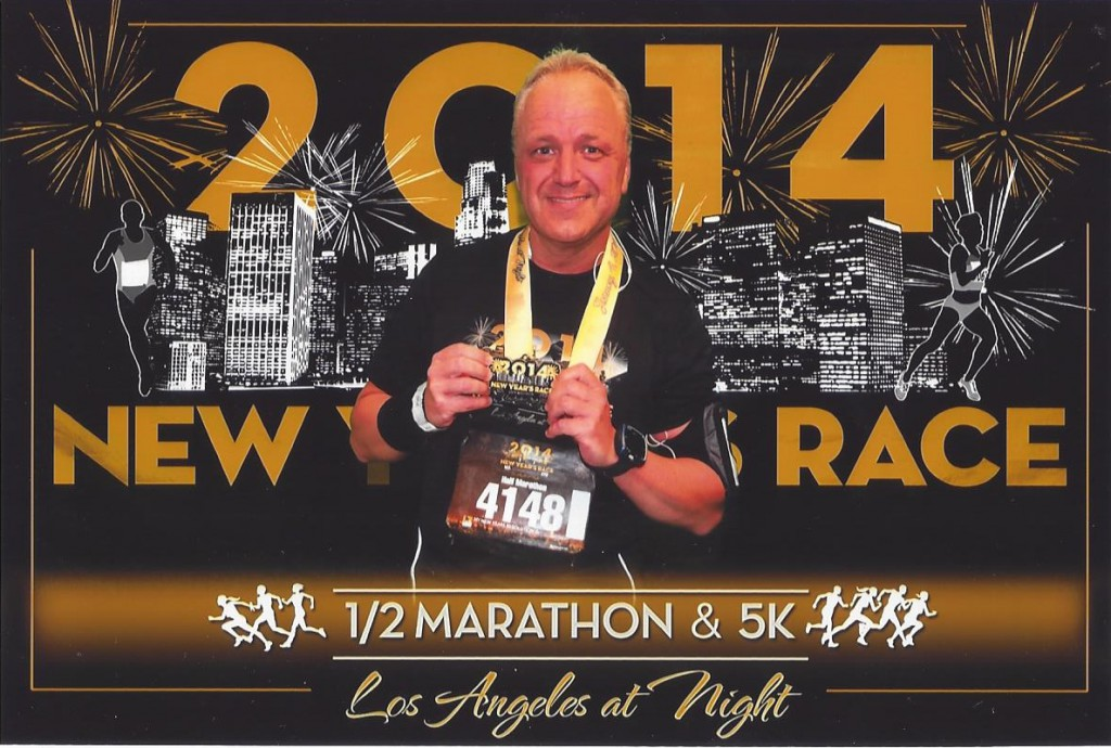0014_New Year Halbmarathon  Los Angeles, USA, 04 Januar 2014