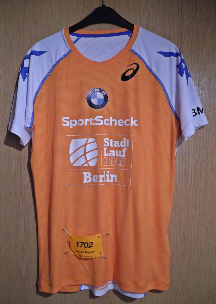 Laufshirt 7. StadtLauf Berlin / Halbmarathon