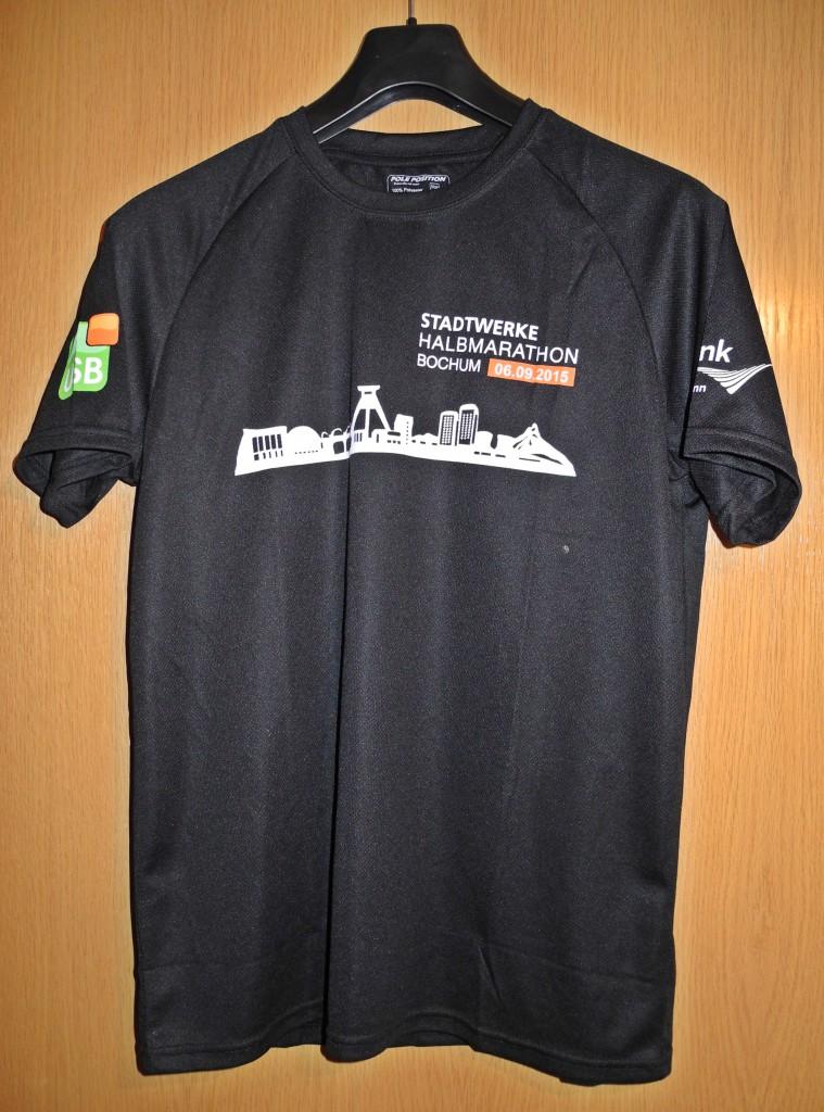 Laufshirt Stadtwerke Halbmarathon Bochum