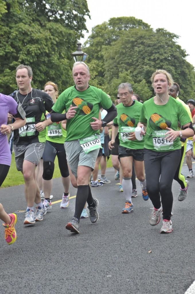 Halbmarathon - Dublin Rock 'n' Roll Half Marathon, 02. August 2015