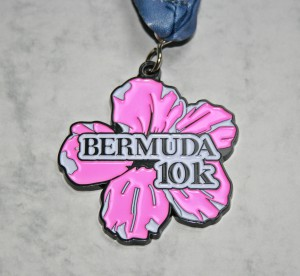 Finisher Medaille Bermuda Triangle Challenge 2015 / 10 km Lauf