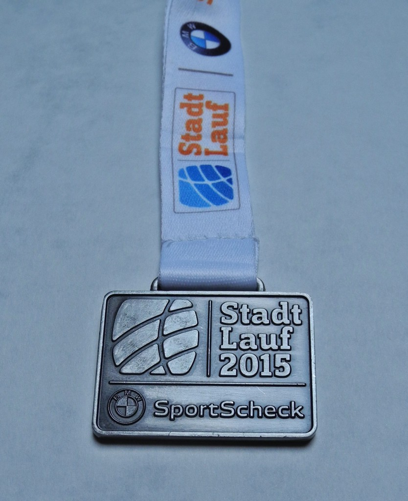 Finisher Medaille 7. StadtLauf Berlin