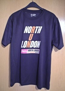 Laufshirt North London Half Marathon 2015 / Halbmarathon