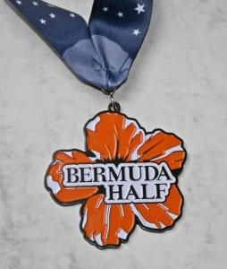 Finisher Medaille Bermuda Triangle Challenge 2015 / Halbmarathon
