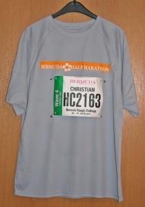 Laufshirt Bermuda Triangle Challenge 2015 / Halbmarathon