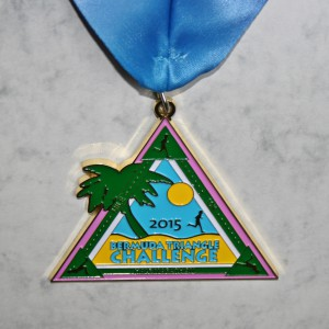 Finisher Medaille Bermuda Triangle Challenge 2015 / Gesamtwertung