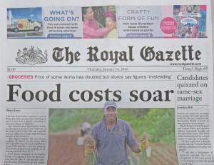 20160114_Royal_Gazette_1_Front