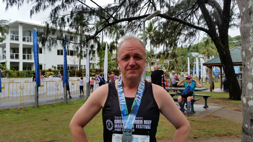 10 km Lauf - Great Barrier Reef Marathon, Port Douglas Australien, 22. Oktober 2017