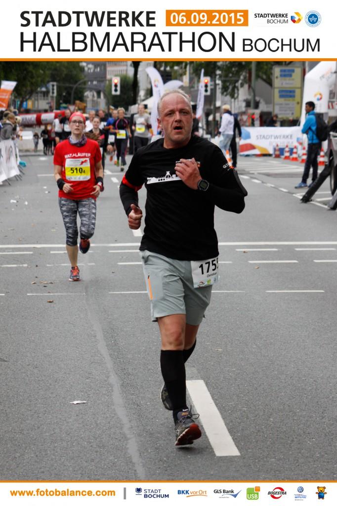 Halbmarathon - Stadtwerke Halbmarathon Bochum, 06. September 2015