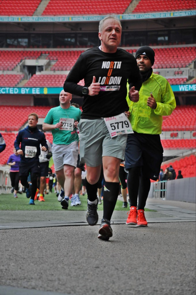 Halbmarathon - Wembley Stadion / North London Half Marathon, 15. März 2015