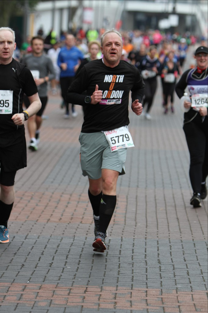 Halbmarathon - Olympic Way, Wembley Stadion / North London Half Marathon, 15. März 2015