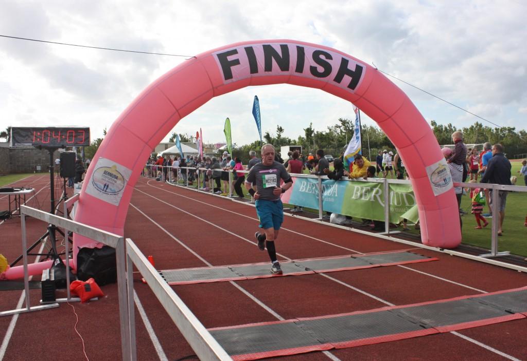 Bermuda Triangle Challenge - 10 km Lauf, 17. Januar 2015