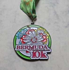 Finisher Medaille Bermuda Triangle Challenge 2016 / 10 km Rennen