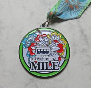 Finisher Medaille Bermuda Triangle Challenge 2016 / 1 Mile Rennen