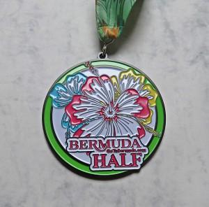 Finisher Medaille Bermuda Triangle Challenge 2016 / Halbmarathon