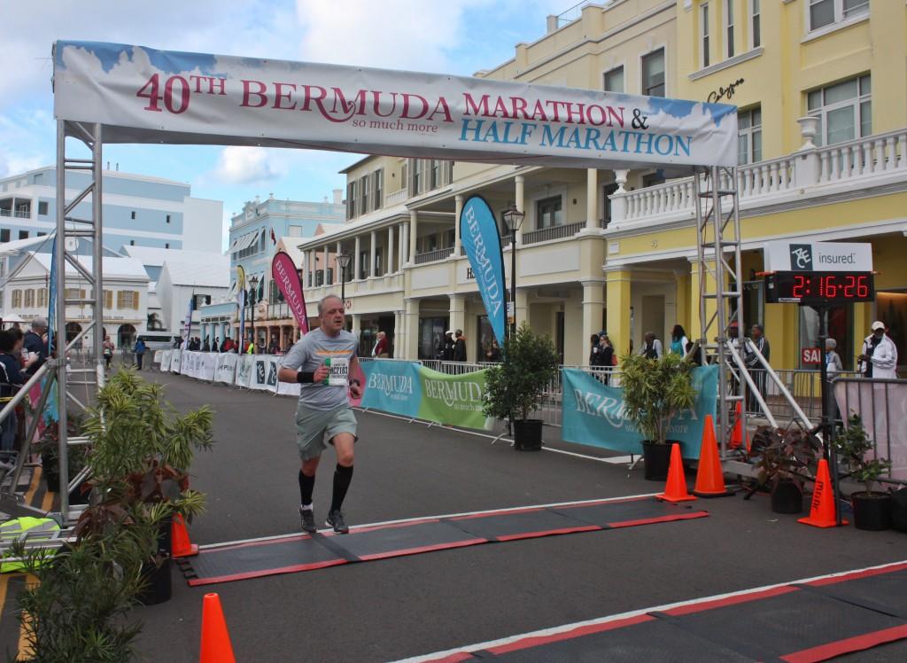 Bermuda Triangle Challenge - Halbmarathon, 18. Januar 2015