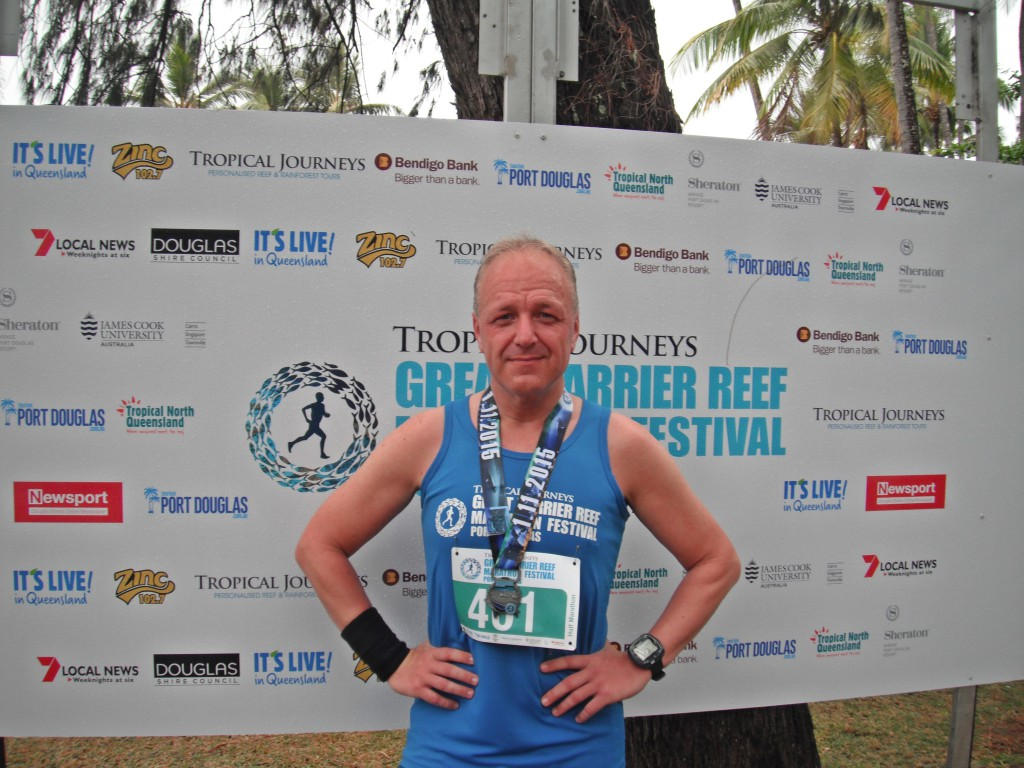 Halbmarathon - Great Barrier Reef Marathon, Port Douglas Australien, 01. November 2015