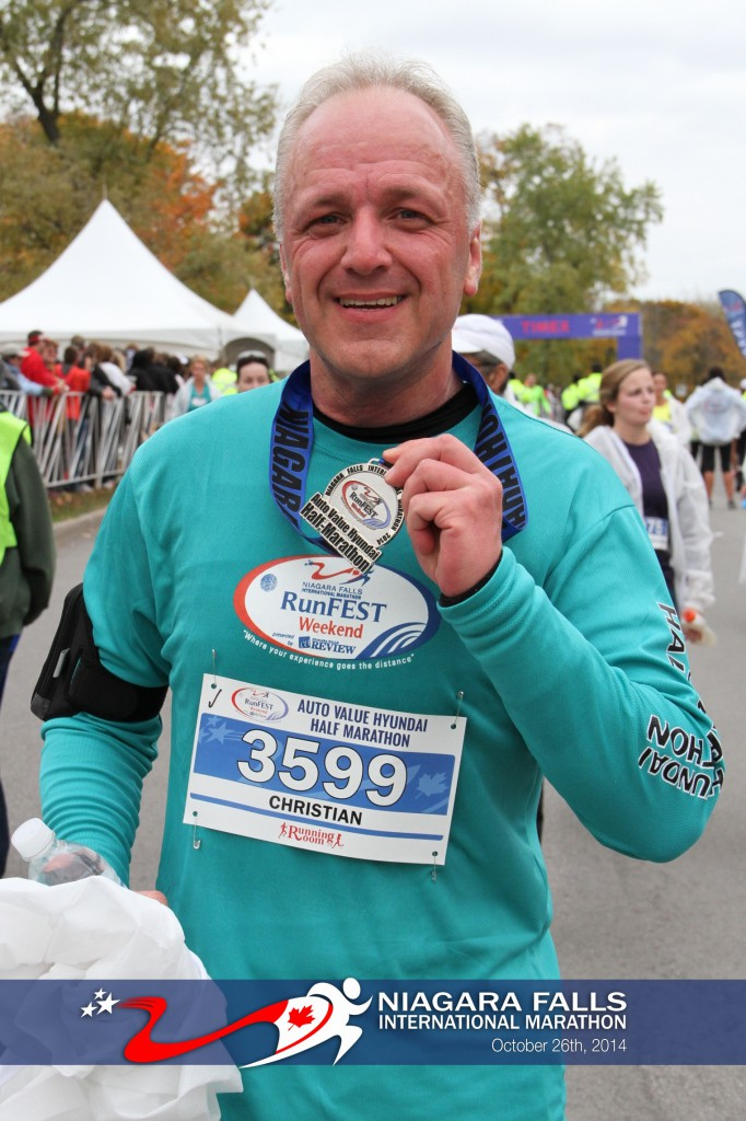 Niagara Falls International Marathon, 26. Oktober 2014