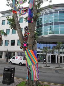 Hamilton - Straßenkunst auf der Church Street