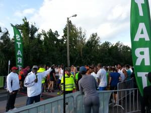 Hamilton - Startbereich zum 10 km Lauf