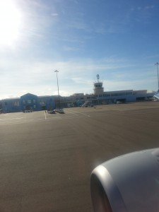 Rückflug - Abschied von den Bermudas