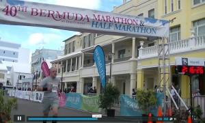 Bermuda Halbmarathon Zieleinlauf Video