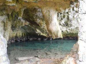 Blue Hole Park - Grotte am Meer