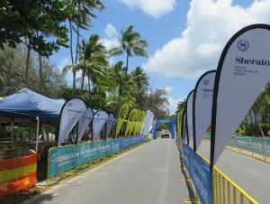 Great Barrier Reef Marathon Wochenende - Hier ist morgen der Zieleinlauf