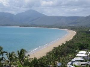 Port Douglas - Höchster Aussichtspunkt mit Blick auf den Four Mile Beach