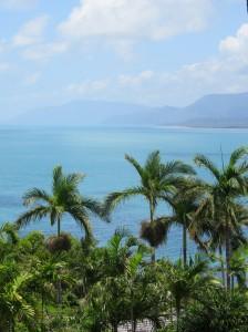 Port Douglas - Höchster Aussichtspunkt mit Blick auf das Meer