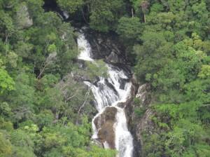 Helikoperrundflug - Mossman Nationalpark, Wasserfall