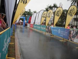 Great Barrier Reef Marathon Wochenende - Der Zieleinlauf