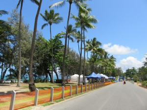 Great Barrier Reef Marathon Wochenende - Auf dem Weg zur Abholung meiner Startunterlagen