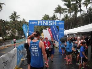 Great Barrier Reef Marathon Wochenende - Das Ziel