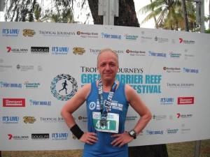 Great Barrier Reef Marathon Wochenende - Finisher Foto