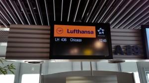 Abflug Düsseldorf