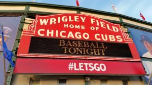 Saisoneröffnung / Heimspiel der Chicago Cubs