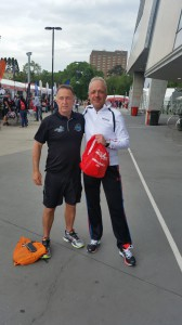 MCG Arena Melbourne - Auf der Läufermesse mit Mark von den Whitsundays