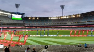 MCG Arena in Melbourne - Vor dem Start