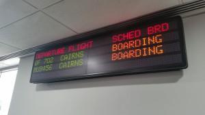 Melbourne - Abflug nach Cairns