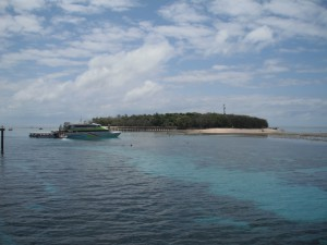 Green Island - Ankunft