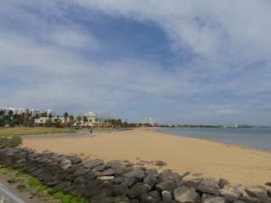 St. Kilda Beach - der Strand